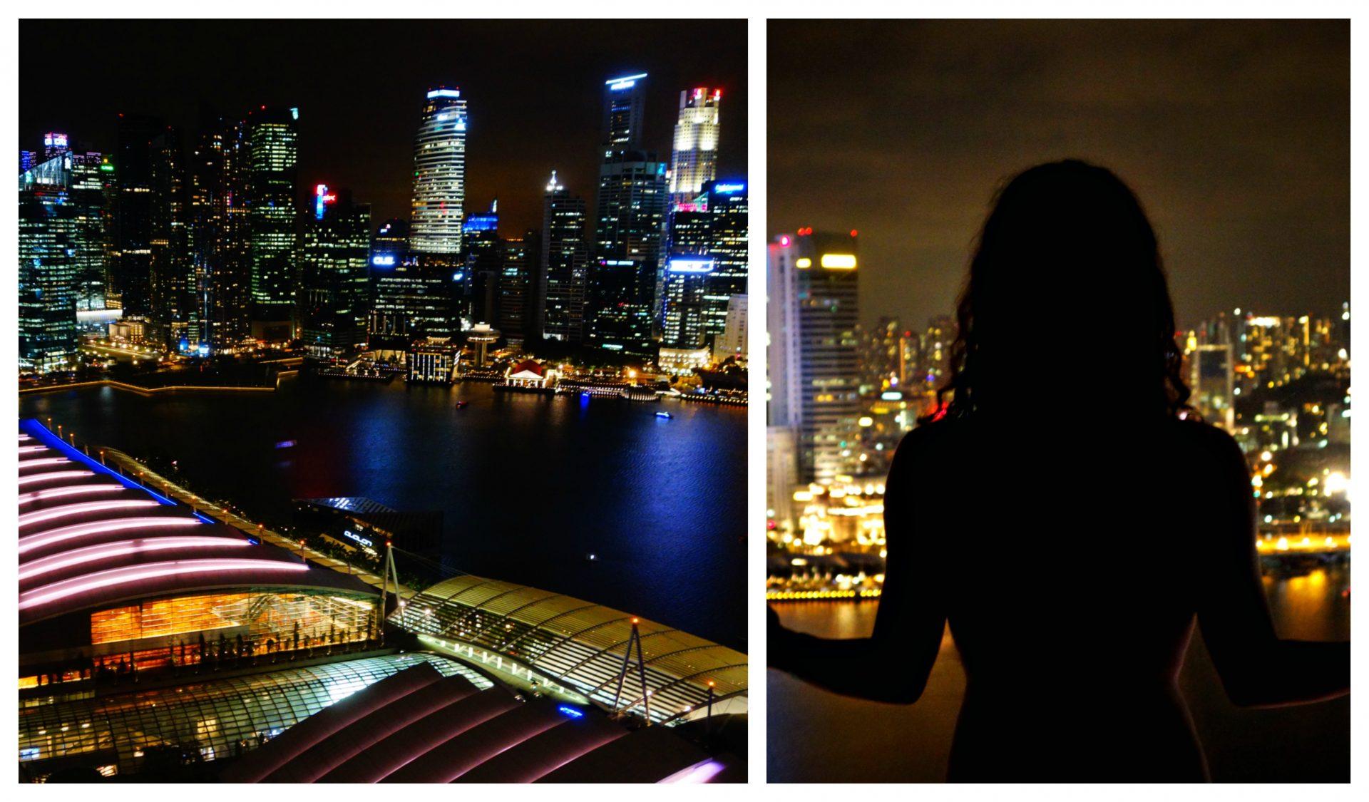 Vistas desde la habitación del Marina Bay Sans. Que hacer en Singapur