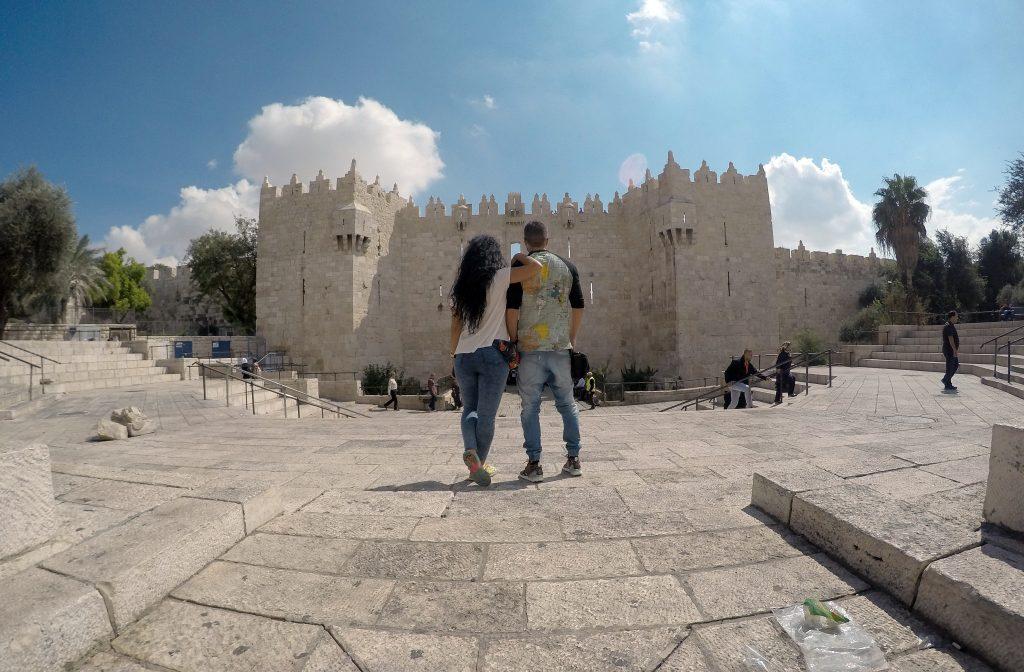 Puerta de Damasco. Conocer Jerusalén