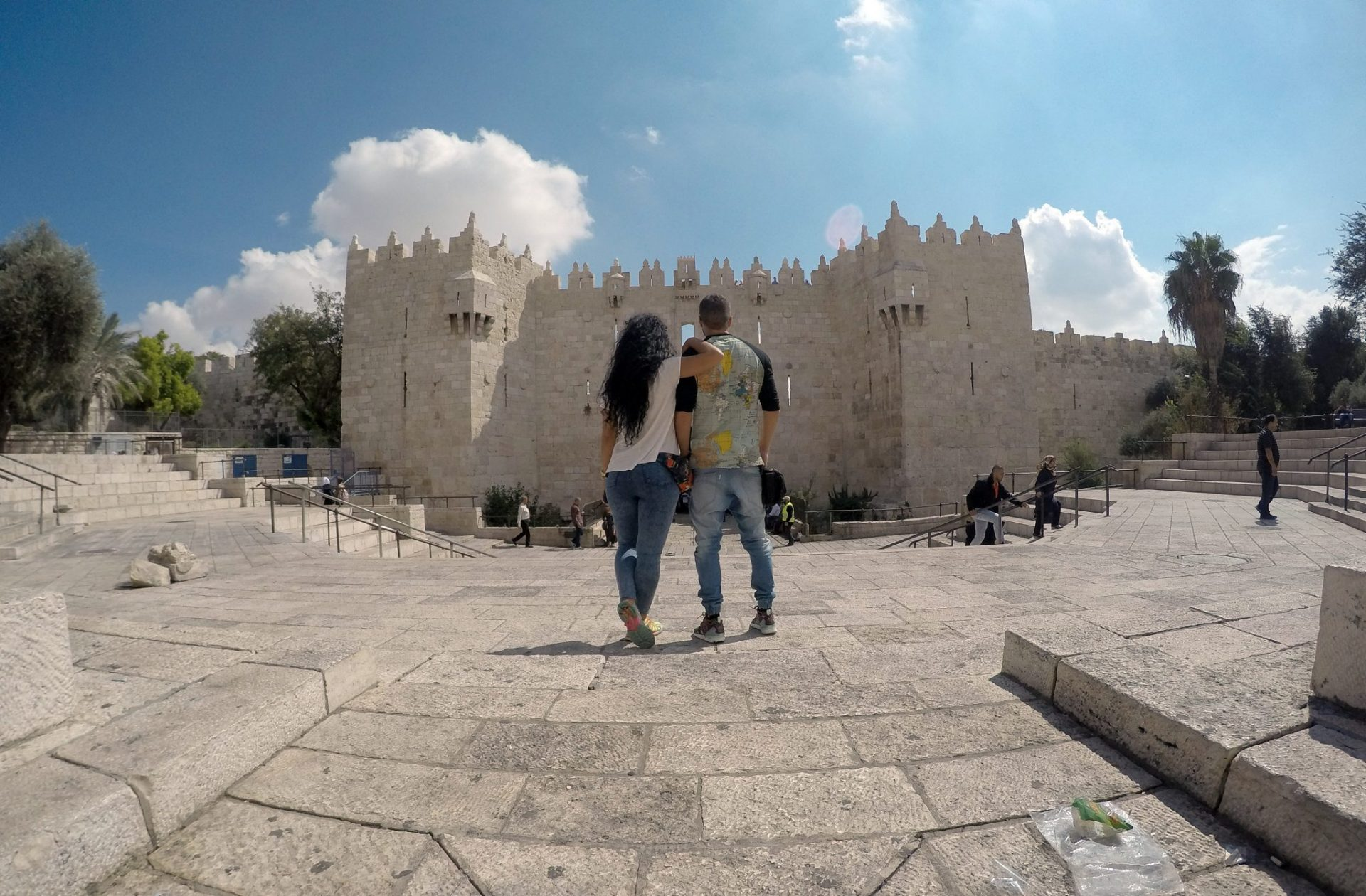 como cruzar la frontera desde Jordania a Israel
