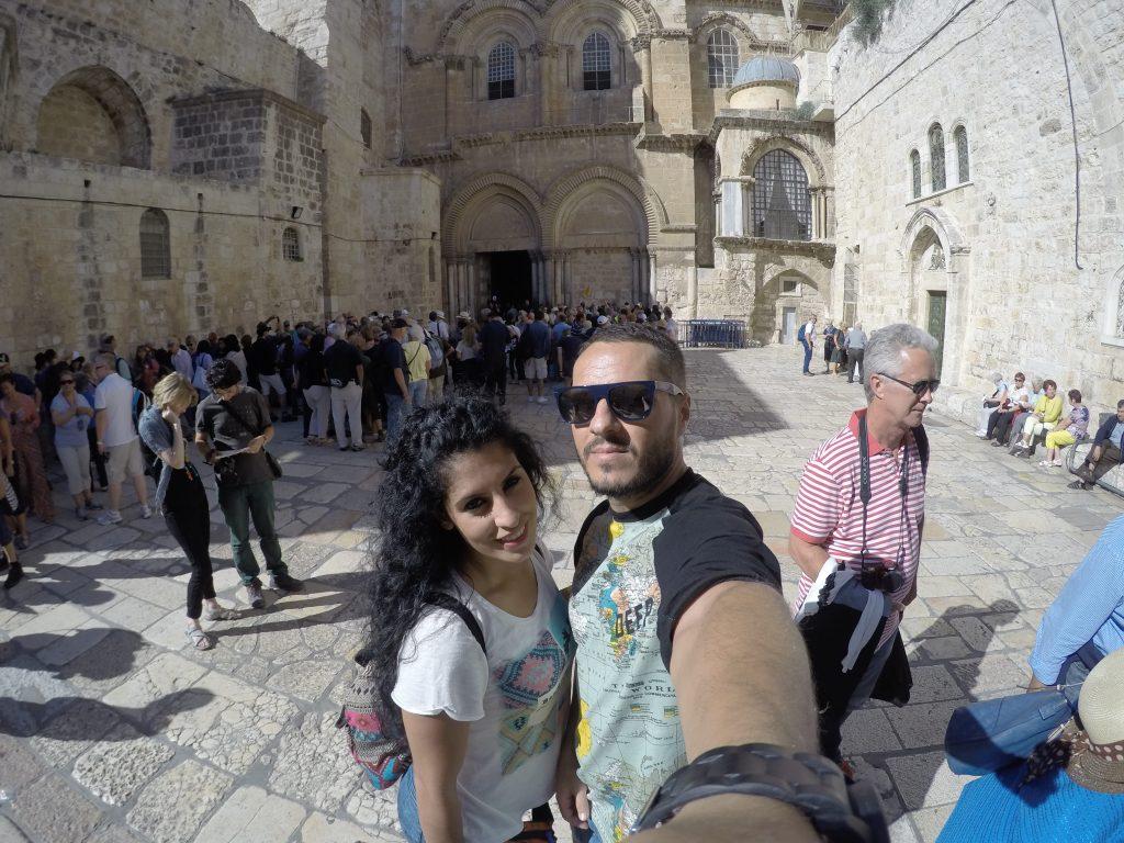 Puerta del Santo Sepulcro. Conocer Jerusalén