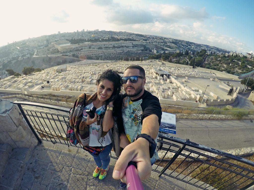 Tumbas de judíos en el Monte de Los Olivos. Conocer Jerusalén