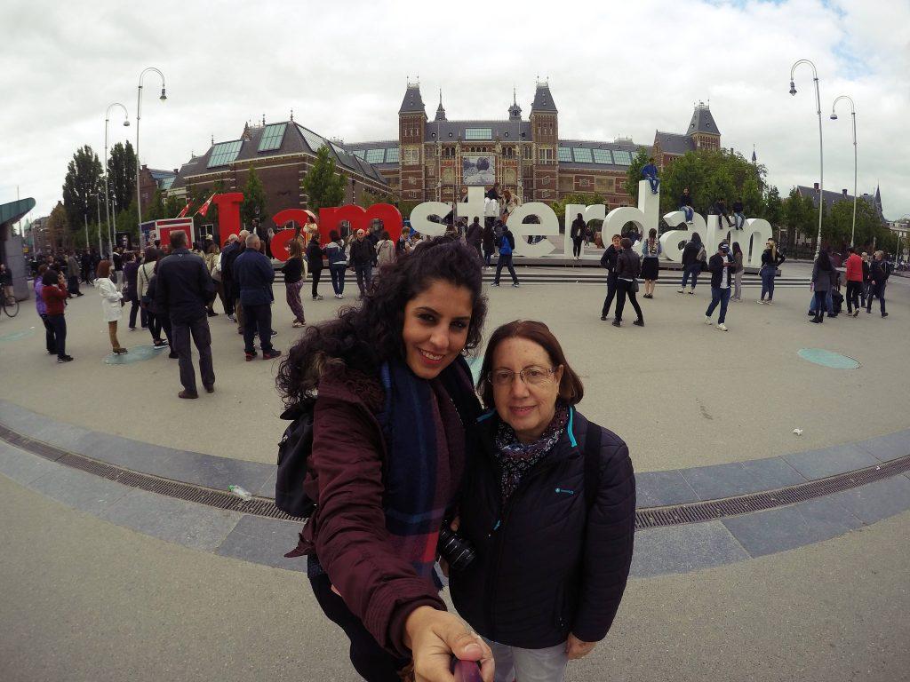 Letras de I am Amsterdan en Rijksmuseum. Que hacer en Amsterdam