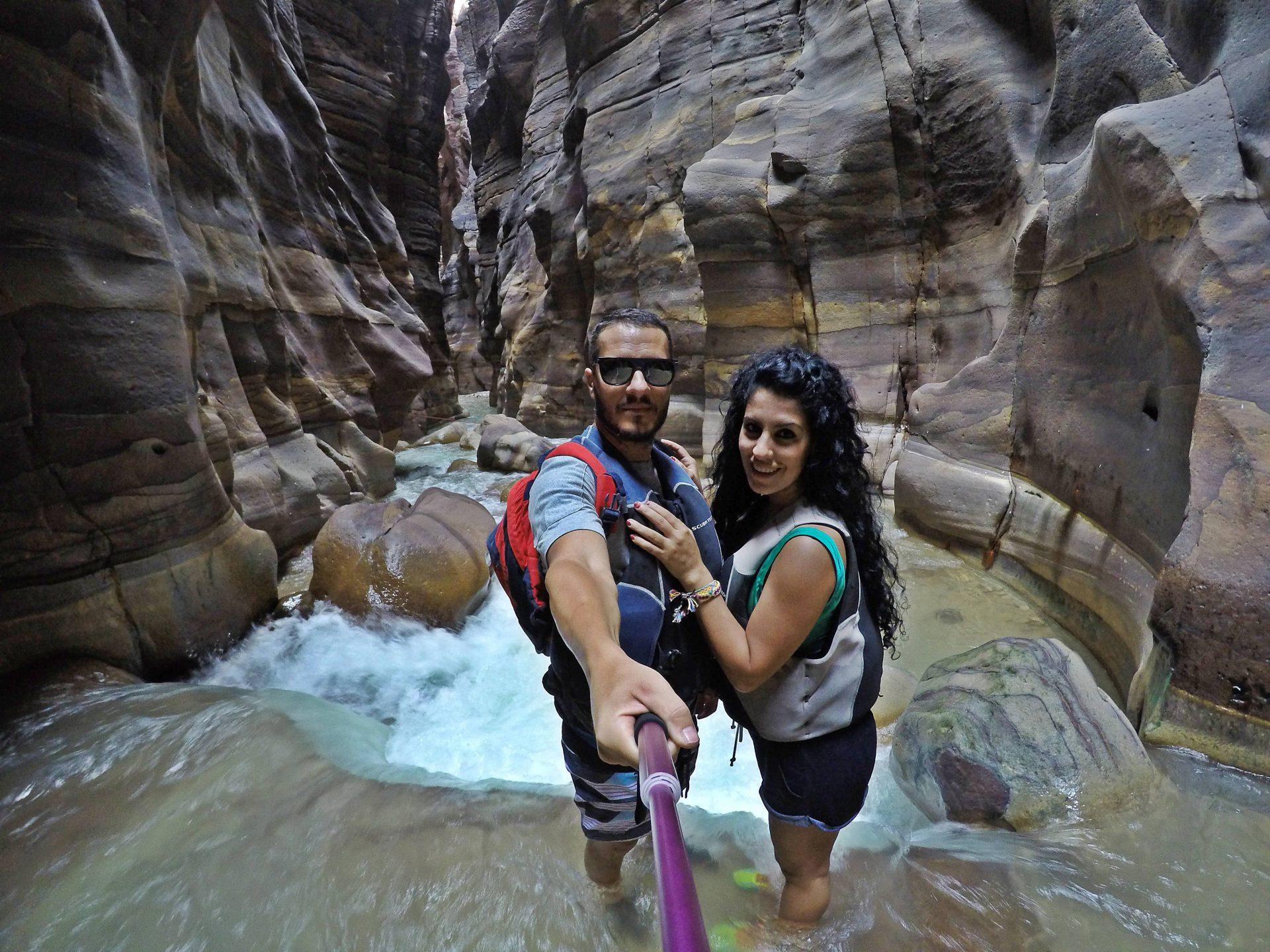 Siq trail en el Wadi Mujib