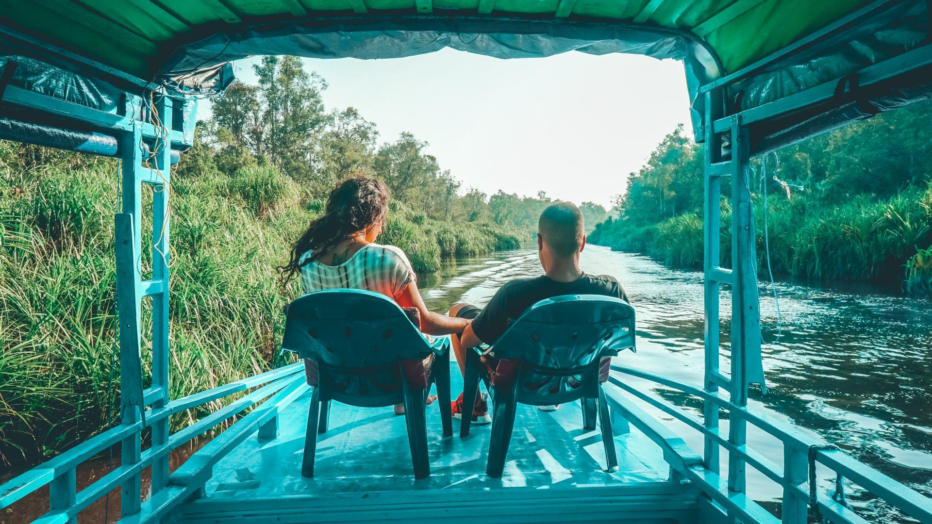 Tres días en barco por Borneo