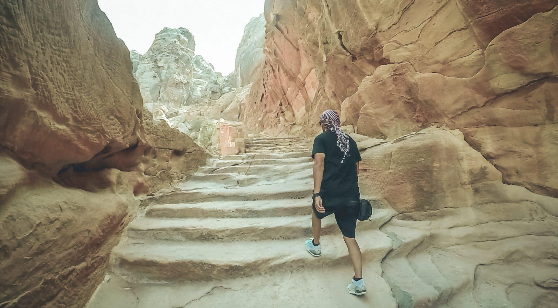 Visitar Petra por libre en dos días