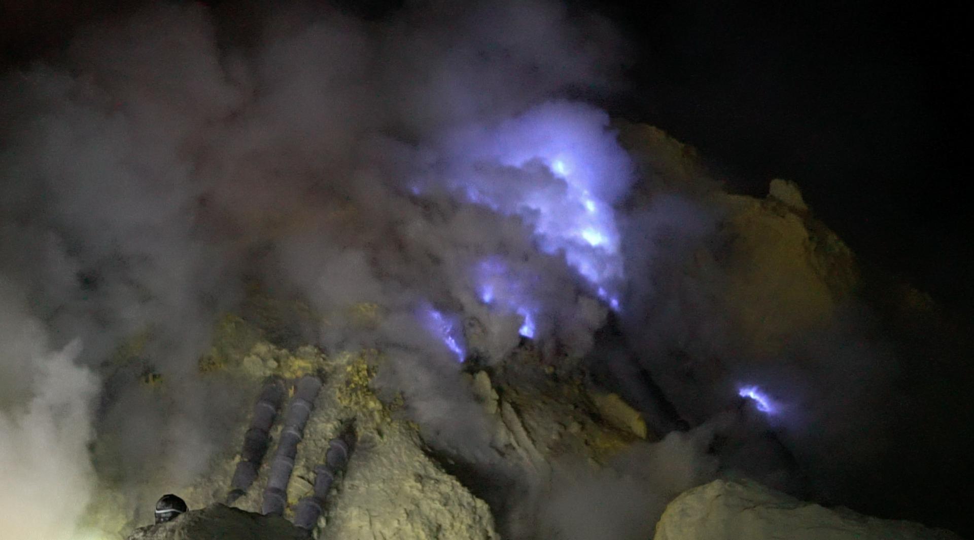 volcán Ijen por libre o con excursión