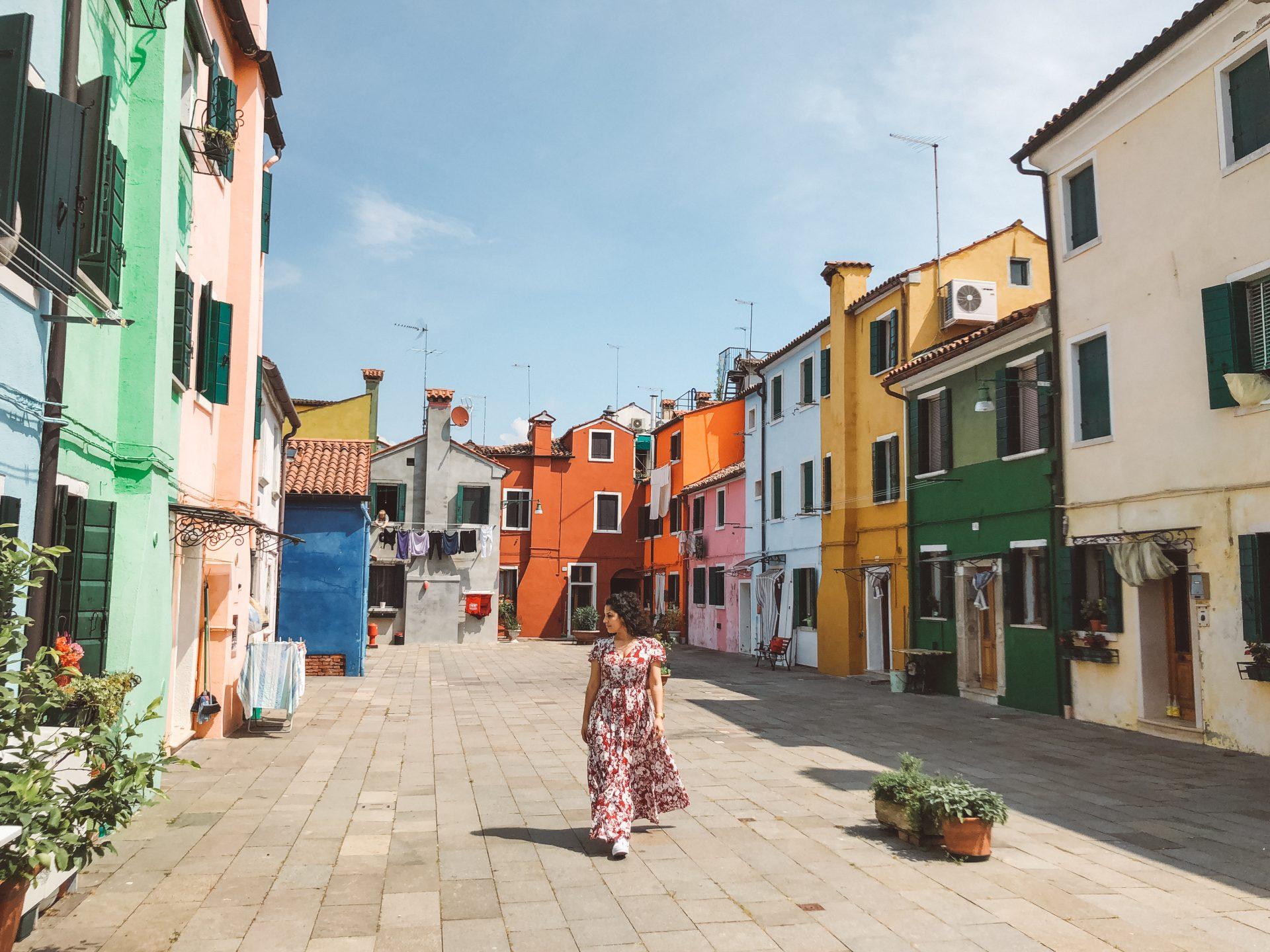 Burano desde Venecia en un día