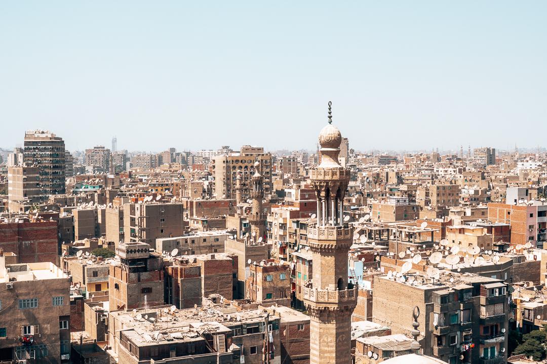 Vistas de El Cairo durante mi viaje a Egipto